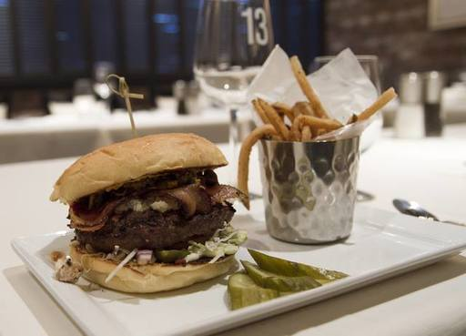 Beef Wellington Burger